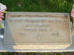Frank Woodruff Hains, Jr