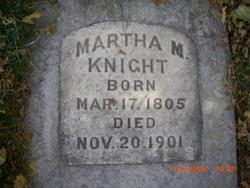 Martha K <i>McBride</i> Knight