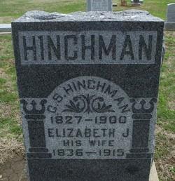 Elizabeth Jane <i>Swann</i> Hinchman