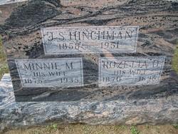 Minnie Myrtle <i>Adams</i> Hinchman