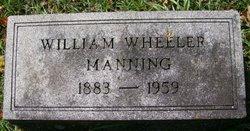William <i>Wheeler</i> Manning