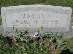 Effie Marie <i>Colwick</i> Matson