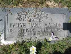 Evelyn Jane Matson