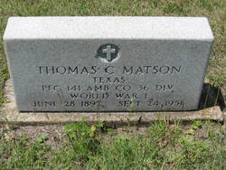 Thomas C Matson