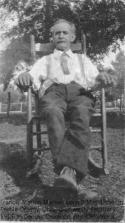 Francis Marion Marker