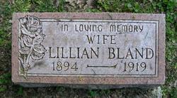 Lillian <i>Williams</i> Bland