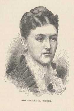 Rebecca M. The Loyal Girl of Winchester VA <i>Wright</i> Bonsal