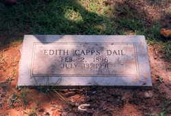 Edith <i>Capps</i> Dail