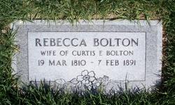 Rebecca <i>Bunker</i> Bolton