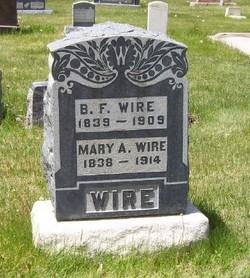Mary Ann <i>Daws</i> Wire