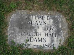 Elizabeth <i>Hall</i> Adams
