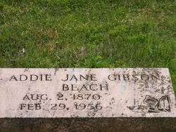 Addie Jane <i>Gibson</i> Beach