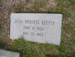 Julia <i>Roberts</i> Keefer
