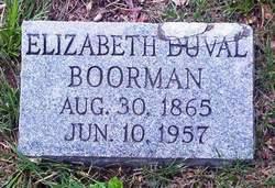 Elizabeth DuVal Boorman