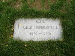 Sr Sarah Grundman