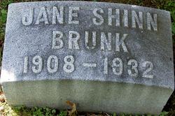 Jane <i>Shinn</i> Brunk