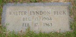 Walter Lyndon Beck
