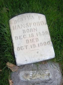 Bertha F. Hansford