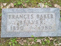 Frances <i>Baker</i> Beaver