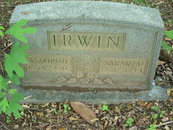 Sarah Adeline <i>Longino</i> Irwin