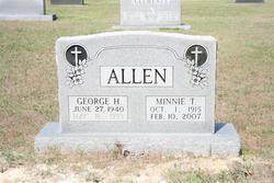 Minnie T Allen