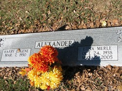 Harry Eugene Alexander