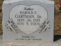 Rev Harold Eugene Gartman, Sr