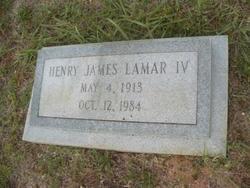 Henry James Lamar, IV