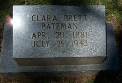 Clara <i>Brett</i> Bateman