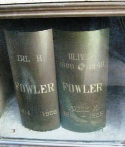 Oliver James Ollie Fowler