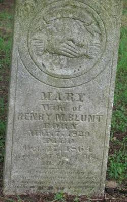 Mary <i>McCormick</i> Blunt