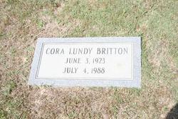 Cora <i>Lundy</i> Britton