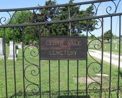 Cedar Vale Cemetery