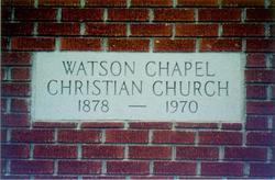 Watson Chapel Cemetery