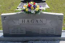 Pamala M <i>Freeman</i> Hagan