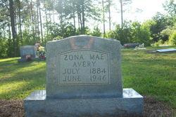 Zona Mae <i>Avery</i>