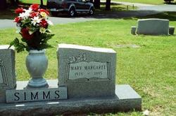 Mary Margaret <i>Rowe</i> Simms