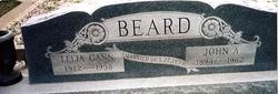 Lelia Vista <i>Gann</i> Beard
