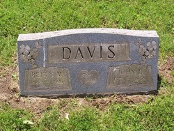Mrs Betty <i>Mounts</i> Davis