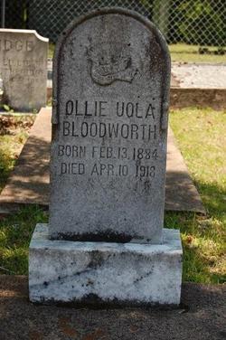 Ollie Uola Bloodworth