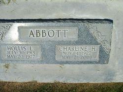 Evelyn Charline <i>Hall</i> Abbott