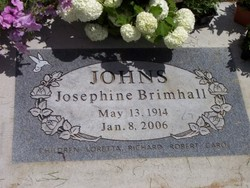 Josephine Brimhall Johns