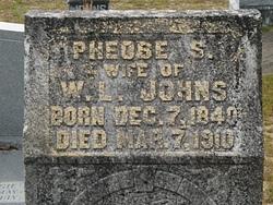 Pheobe Sophia <i>Smith</i> Johns