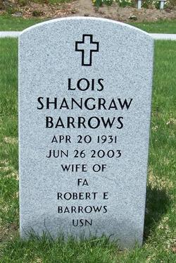 Lois <i>Shangraw</i> Barrows