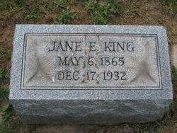 Jane E. <i>O'Connor</i> King
