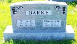 Elizabeth K. <i>Staiger</i> Barke