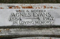 Agnes <i>Miskiman</i> Evans