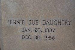 Jennie Sue Daughtry