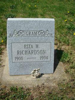 Esta May Gram <i>Jackson</i> Richardson