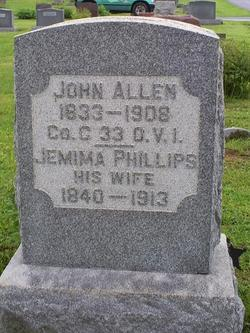 Jemima <i>Phillips</i> Allen